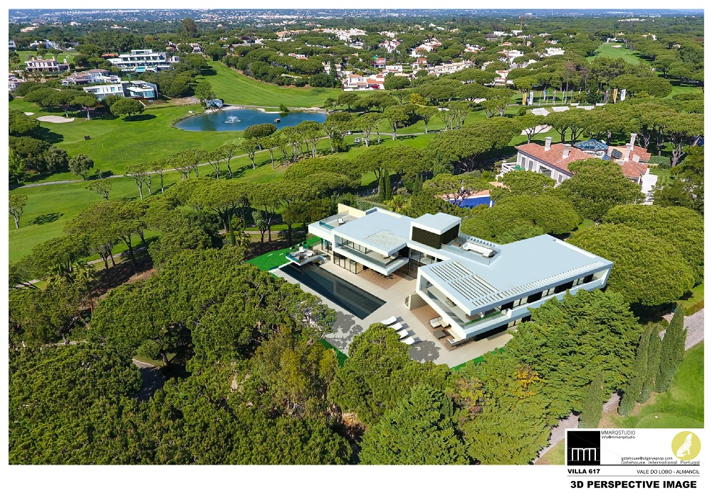 Villa neuve à construire à Vale do Lobo Golf Resort Algarve