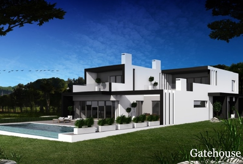 Villa de 4 chambres gatehouse international portugal for Construction de villa